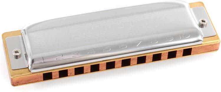 Hohner Blues Harp - Key of F Sharp image 1