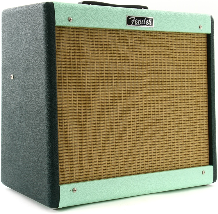 Fender Blues Jr. III FSR Two Tone - FSR - Emerald/Surf image 1