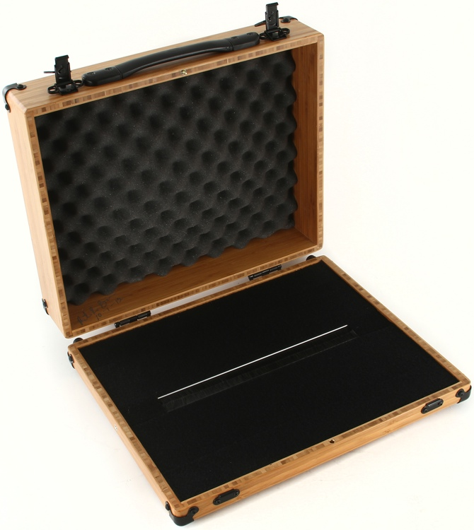 BoiceBox F-17HT Bamboo Pedal Board with Lid - 17