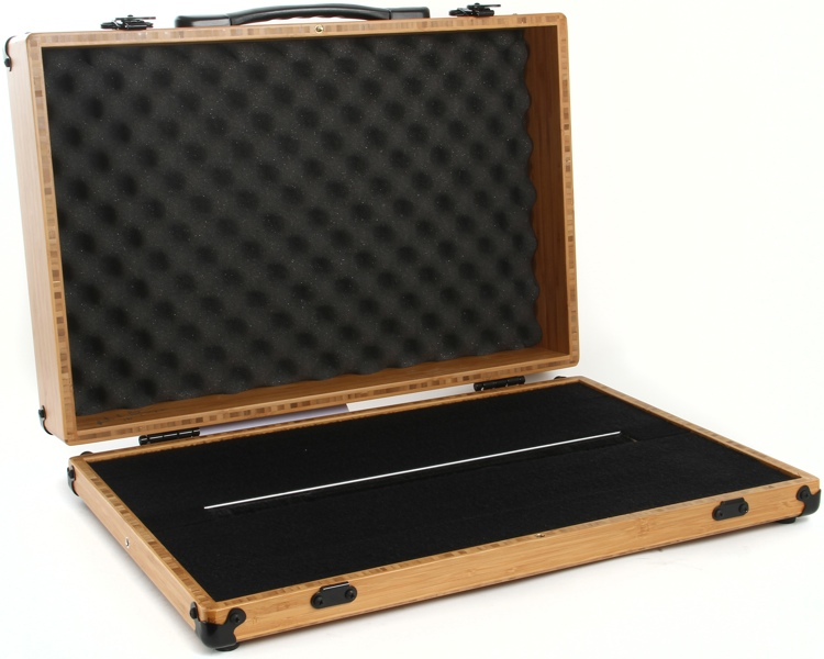 BoiceBox F-21HT Bamboo Pedal Board with Lid - 21