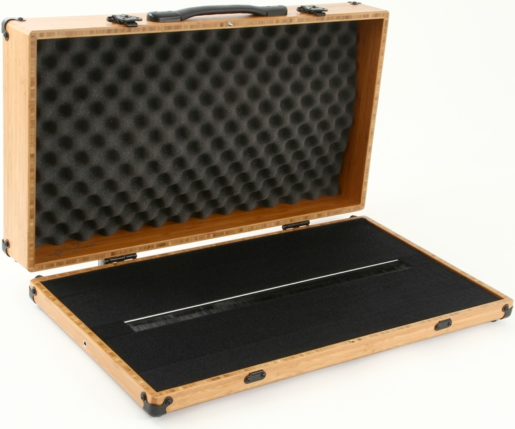 BoiceBox F-26HT Bamboo Pedal Board with Lid - 26