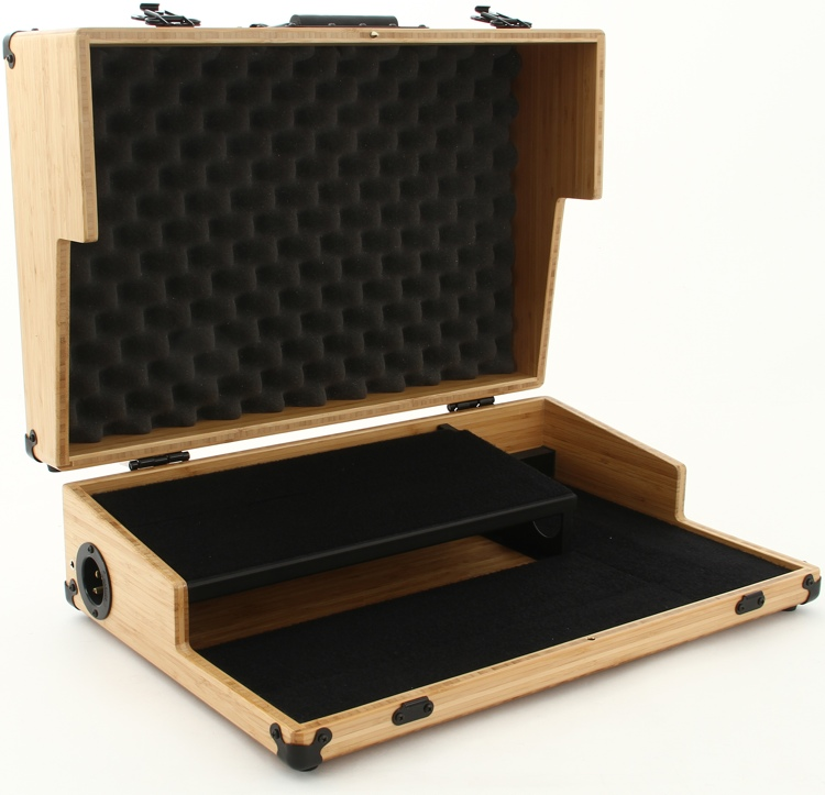 BoiceBox T-21HT Bamboo Pedal Board with Lid - 21