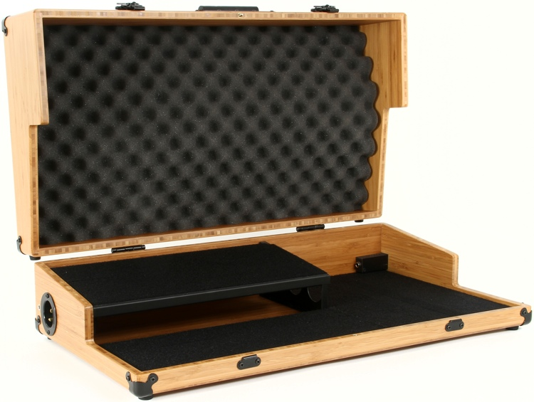 BoiceBox T-26HT Bamboo Pedal Board with Lid - 26