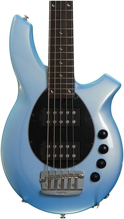 Ernie Ball Music Man Bongo 5 HH - Sky Blue image 1