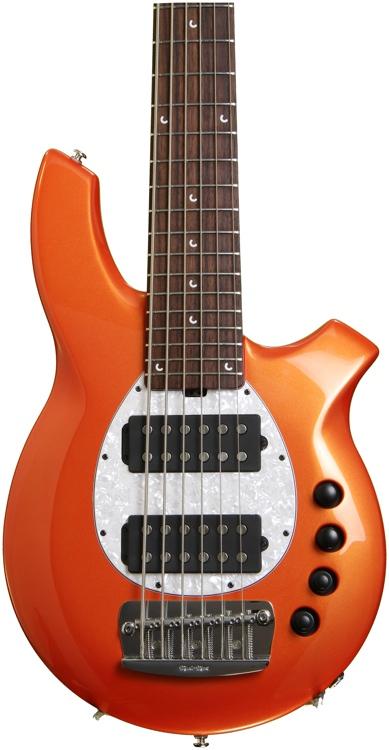 Ernie Ball Music Man Bongo 6 HH 6-String - Tangerine Pearl image 1