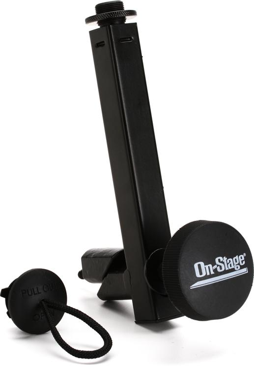 On-Stage Stands KSA7575 Universal Keyboard Mic Attachment Bar image 1