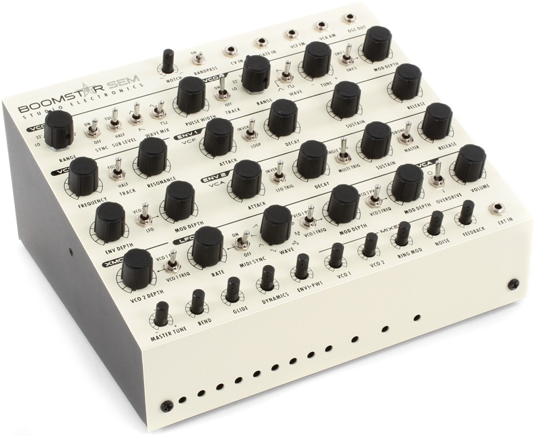Studio Electronics Boomstar SEM Analog Synthesizer image 1