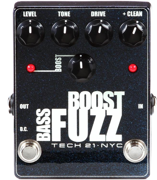 Tech 21 Bass Boost Fuzz Metallic image 1
