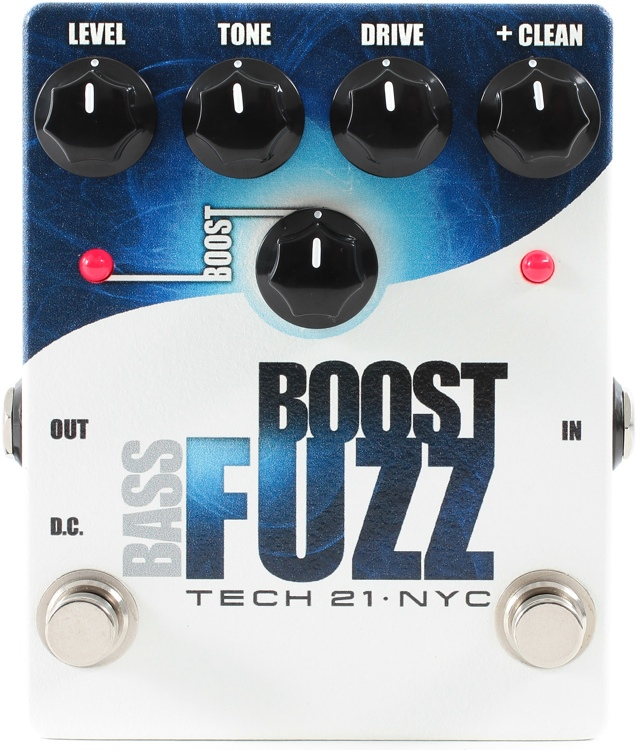 Tech 21 Bass Boost Fuzz Pedal image 1