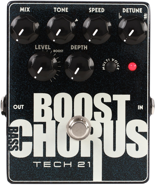 Tech 21 Bass Boost Chorus Pedal image 1