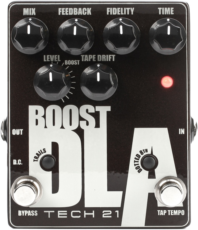 Tech 21 Boost D.L.A. Version 2 Analog Delay Emulator Pedal image 1