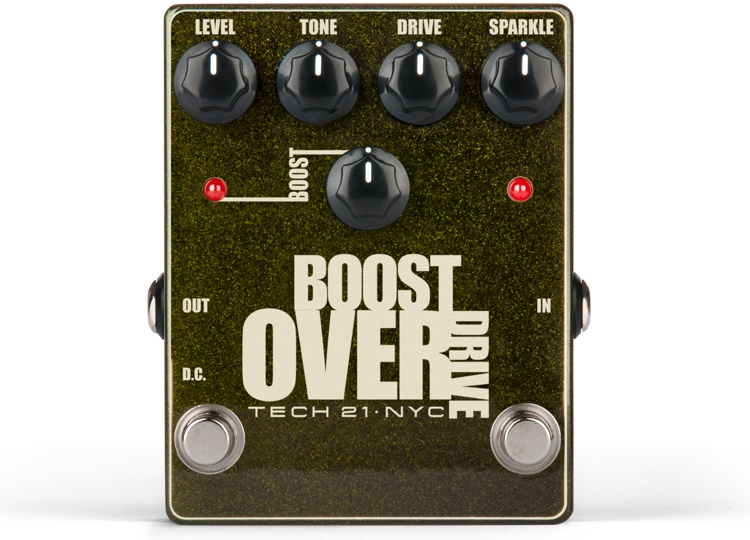 Tech 21 Boost Overdrive Pedal image 1