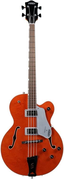 Gretsch G6119B Broadkaster - Orange image 1