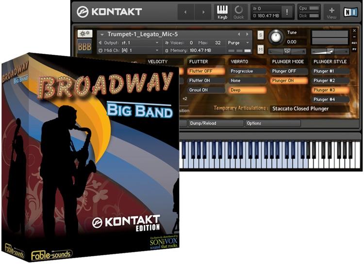 Fable Sounds Broadway Big Band image 1