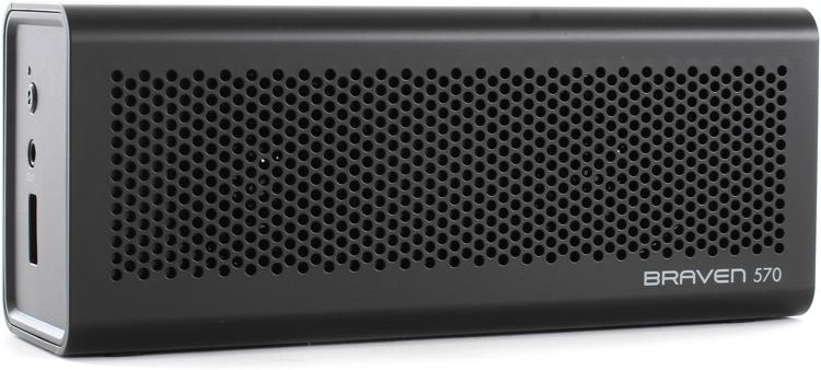 Braven 570 Portable Wireless Speaker, Black image 1