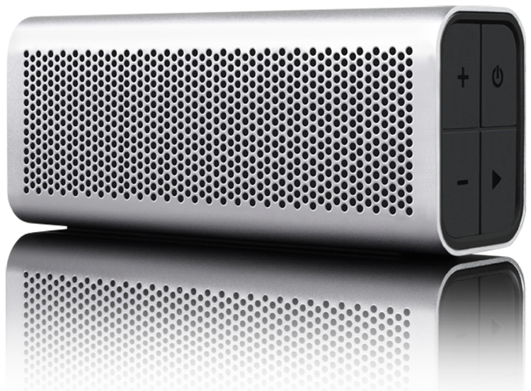 Braven 710 Portable Wireless Speaker, Silver image 1