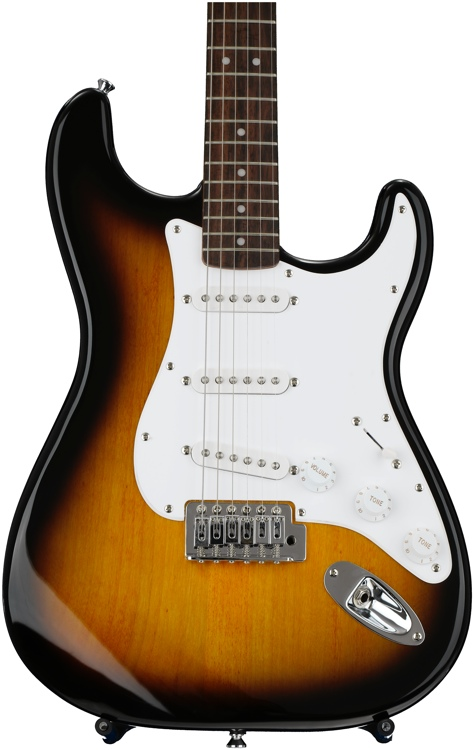 Squier Bullet Strat - Brown Sunburst image 1
