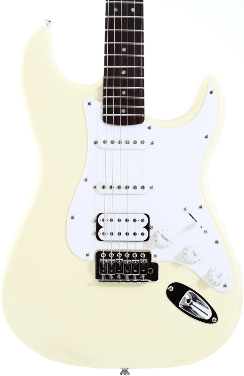 Squier Bullet Strat with Tremolo HSS - Arctic White image 1