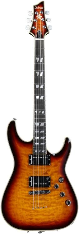 Schecter C-1 Custom - 3-Tone Sunburst image 1