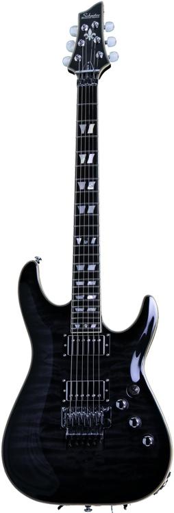 Schecter C-1 Custom FR - See-Thru Black image 1