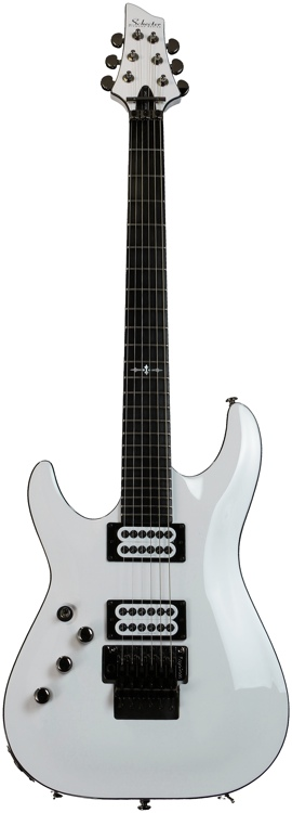Schecter C-1 FR Special Edition, Left Hand - White, Left handed image 1