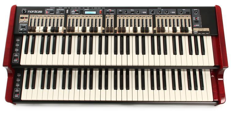 Nord C2D Dual Manual Combo Organ image 1