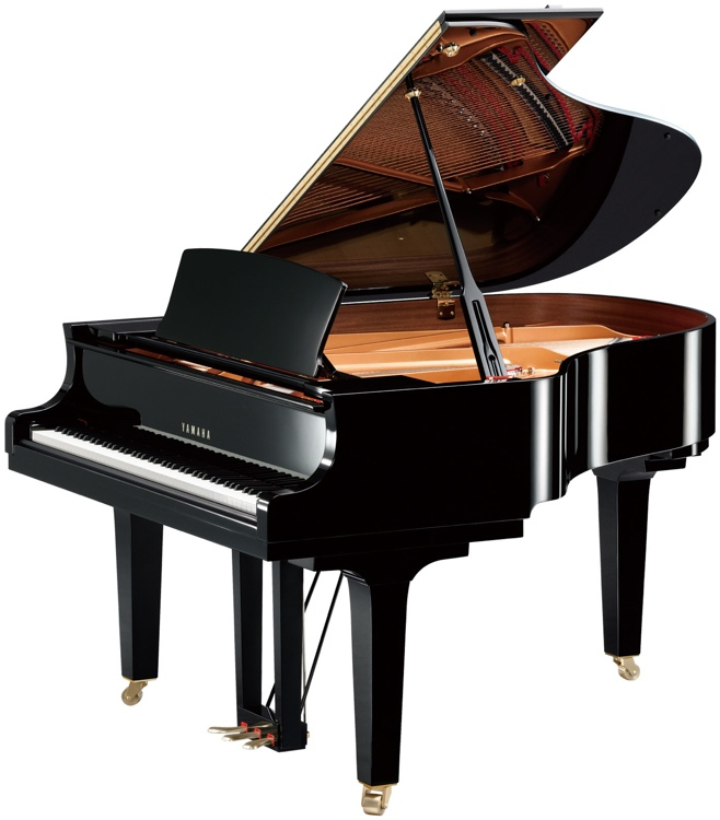 Yamaha C2X Acoustic Grand Piano image 1