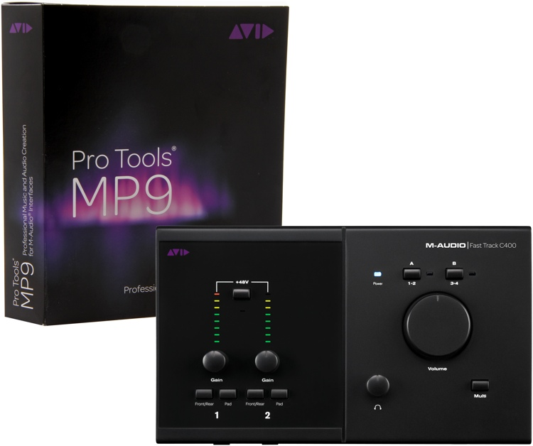 m audio pro tools mp fast track c400 sweetwater. Black Bedroom Furniture Sets. Home Design Ideas