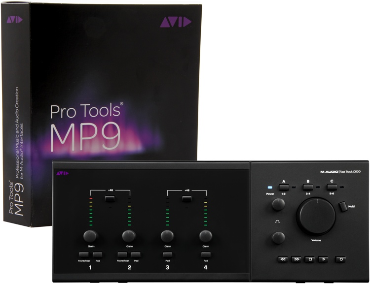 M-Audio Pro Tools MP + Fast Track C600 image 1