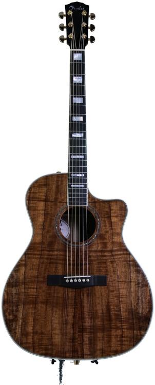Fender USA Select Classic Koa Auditorium Cutaway image 1