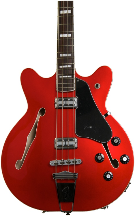 Fender Coronado Bass - Candy Apple Red image 1