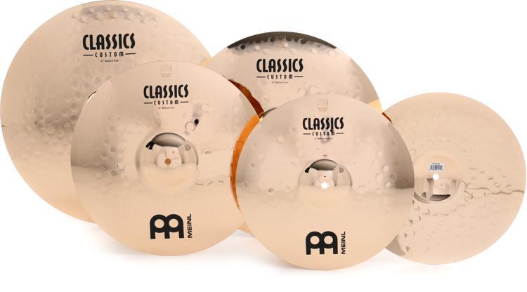 Meinl Cymbals Classic Custom Bonus Cymbal Box Set Free 18