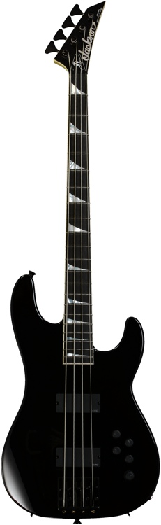 Jackson David Ellefson Concert Bass Rust in Peace 20th Anniversary LTD - 4 String Black image 1