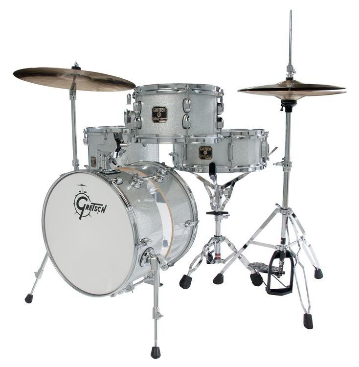 Gretsch Drums CC-S264X - Silver Sparkle image 1