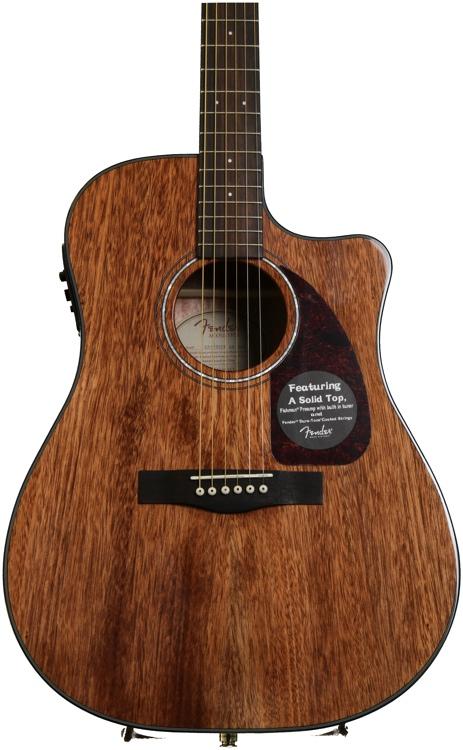 Fender CD-140SCE - Mahogany image 1
