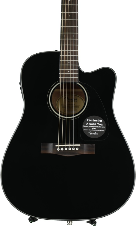 Fender CD-140SCE - Black image 1