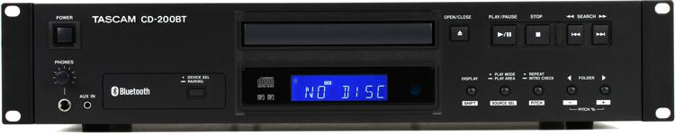 TASCAM CD-200BT CD Player/ Bluetooth Receiver image 1