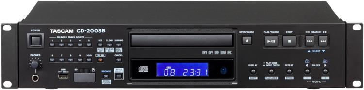 TASCAM CD-200SB CD / SD / USB Player image 1