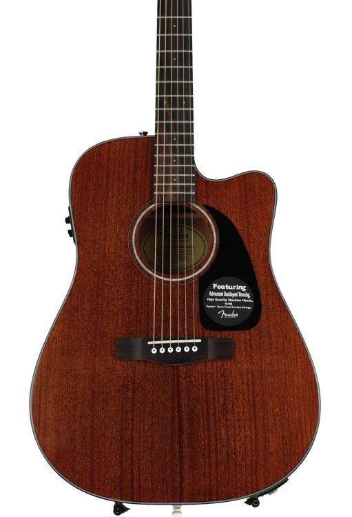 Fender CD-60CE - All Mahogany image 1