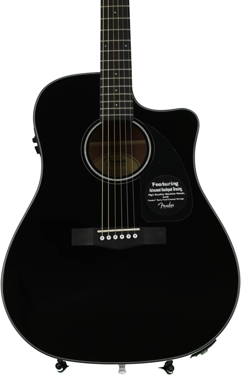 Fender CD-60CE - Black image 1