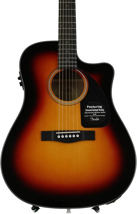 Fender CD-60CE - Sunburst image 1