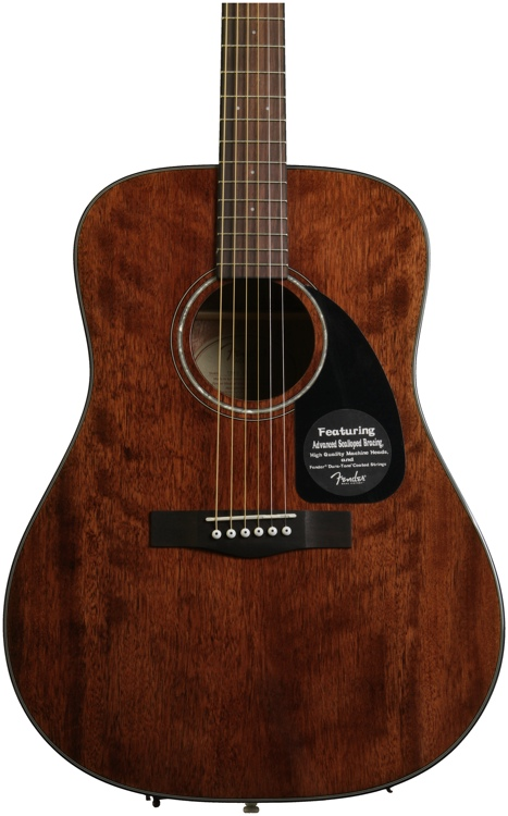 Fender CD-60 Dreadnought - All Mahogany image 1