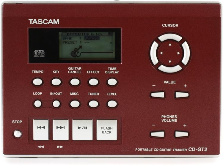 TASCAM CD-GT2 Guitar Phrase Trainer image 1