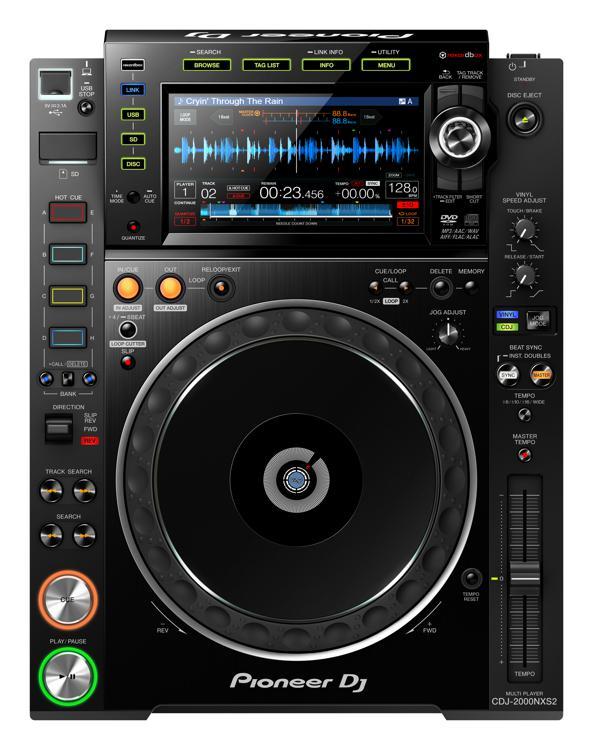 Pioneer DJ CDJ-2000NXS2 Professional Multi Player image 1