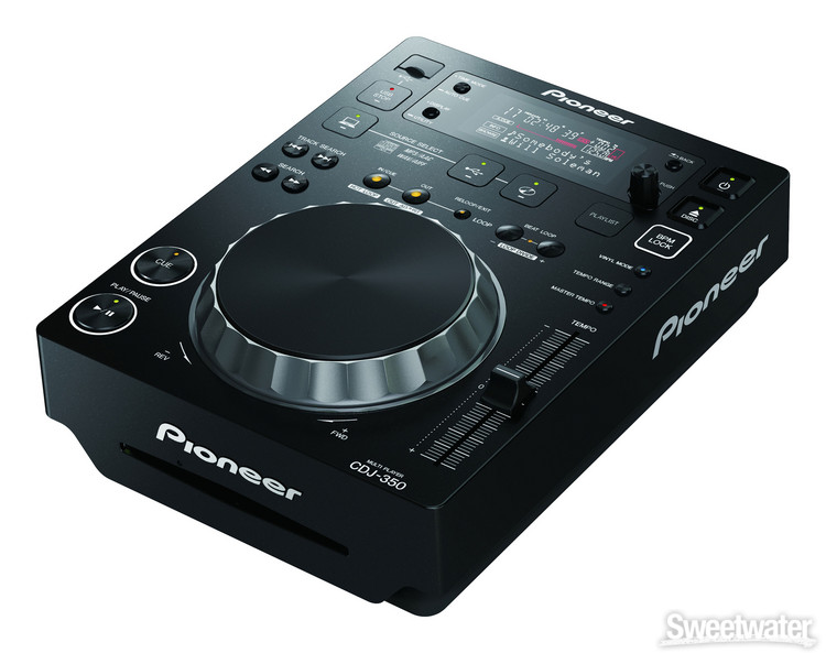 Pioneer DJ CDJ-350 Multi-format Media Player image 1