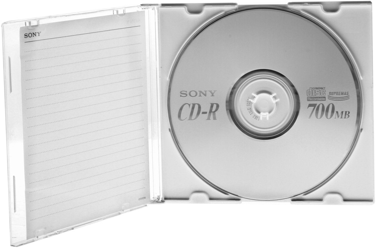 Sony CD-R 10-disc Pack image 1