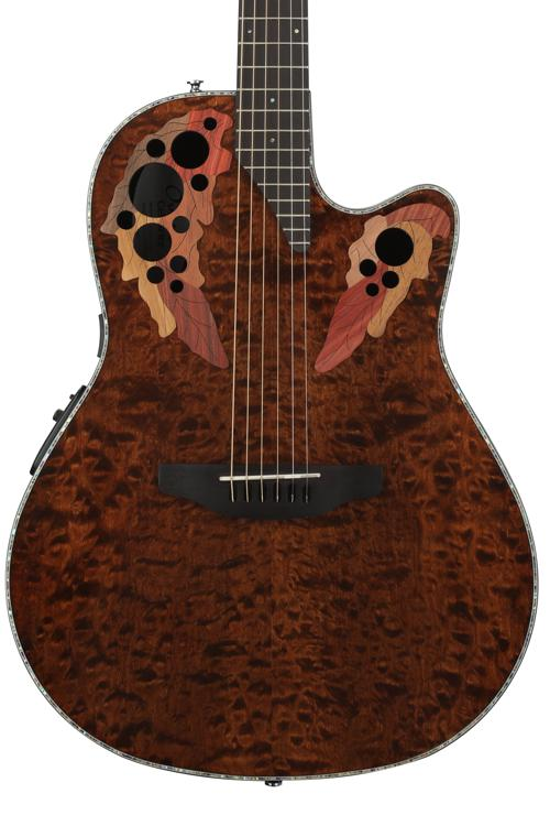 Ovation Elite Plus Celebrity - Tiger Eye image 1