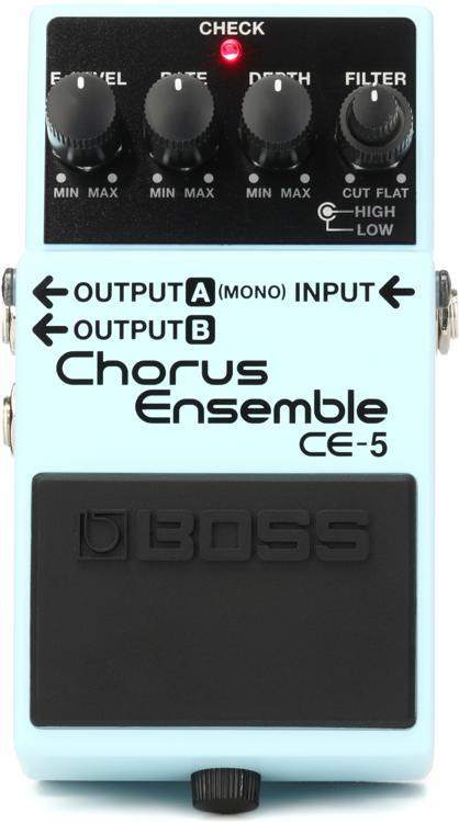 Boss CE-5 Stereo Chorus Ensemble Pedal image 1