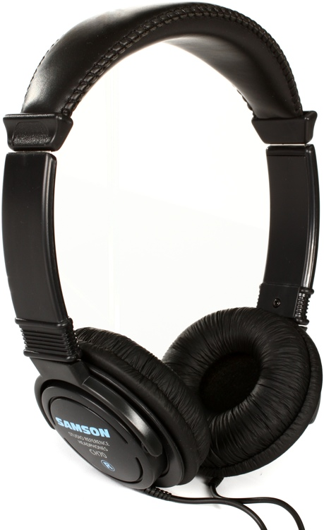 Samson CH70 On-Ear Reference Headphones - Closed image 1