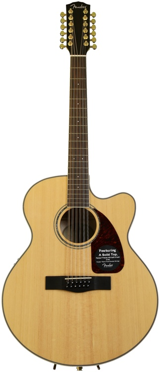 Fender CJ-290SCE-12 - Flame Maple image 1